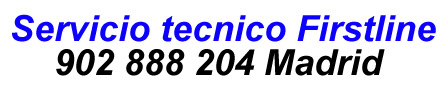 Servicio tecnico firstline Madrid