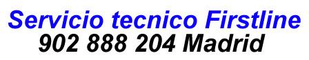 Servicio tecnico firstline Madrid